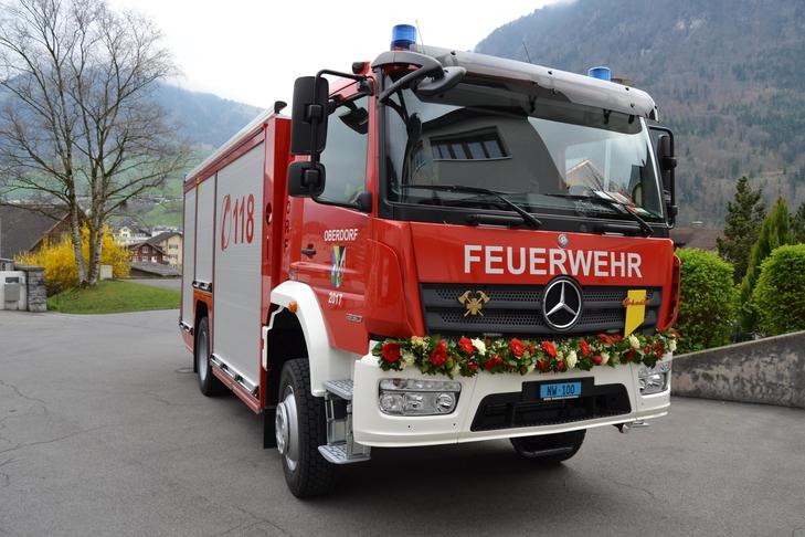 Neues TLF Oberdorf