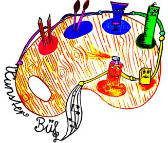 Logo Projektwoche KunsterBü